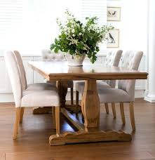 Captain Chairs For Dining Room Table by House Farm Style Dining Room Table With Bench Diy Farmhouse Chairs