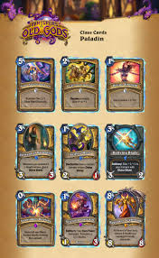 Basic Deck Hearthstone Priest by Visual Guide Of All The Cards From Whispers Of The Old Gods