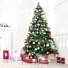 Christmas Tree Artificial Pine Tree With Stand Xmas Party Decors