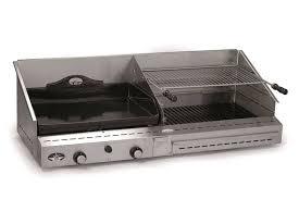 le modèle duo 600 une plancha et un grill forge adour