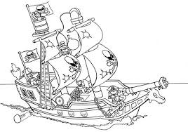 Lego Duplo Galleon Ships Coloring Pages