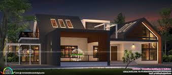 100 Contemporary Bungalow Design 3479 Sqft Modern Contemporary Bungalow Kerala Home Design