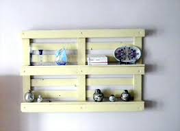 Shelves Made From Pallets Stunning Charming Ideas Pallet For Storage Your Things Garage
