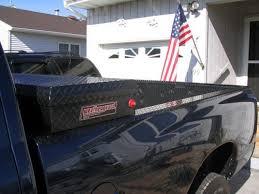 put my diamond plate bed rails sticker on the new truck pavement