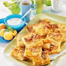 aprikosen schmandkuchen vom blech