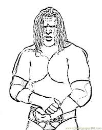 Wrestling Colouring Pages 14 Wrestlers 07 Coloring Page 13 Free Printable WWE