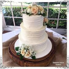 This Stunning Homestyle Finish Wedding Cake Was Delivered To The Sebelhawkesbury On Saturday For Natalie And