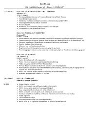 Dialysis Technician Resume Samples Velvet Jobs With Nurse Job Description Sample And