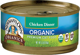 organic cat food newman s own organics grain free 95 chicken dinner canned cat