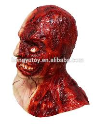 Halloween Resurrection Maske by Horror Human Muscle Error Resurrection Skinless Head Mask In