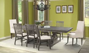 Picture Of Stone Acacia 5 Piece Dining Set