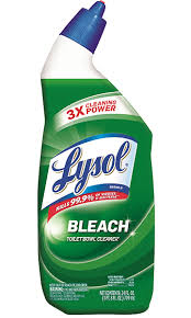 toilet bowl cleaners lysol