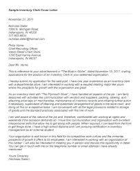 Mail Clerk Cover Letter Stock Resume Sample
