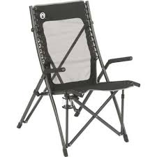 Coleman Oversized Padded Quad Chair Side Cooler by Amazon Com Coleman Comfortsmart Suspension Chair Camping