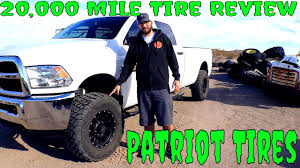 20,000 Mile Patriot Tire's Torque MT Review - Kansas City Trailer ...