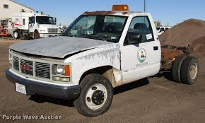 100 69 Gmc Truck 1993 GMC Sierra 3500 Pickup Truck Cab And Chassis Item DB6