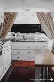 Camper Interior Decorating Ideas by Introducing Silvia Travelcan Airstream Renovation Vintage