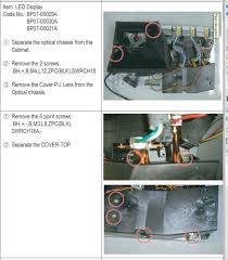 Kdf E42a10 Lamp Replacement Instructions by I Have A Samsung Projection Tv Model Number Is Hl61a750a1fxza