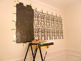 How To Stencil A Wall First Timers Experience