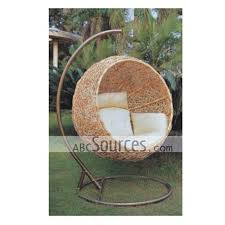 Lovely Design Round Rattan Outdoor Swing Seat