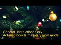 Polytree Christmas Trees Instructions by How To Assemble Your Artificial Christmas Tree Youtube
