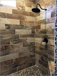 wood look tile shower image bathroom 2017