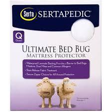 sertapedic ultimate protection bed bug mattress encasement