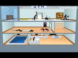 stickman death puzzle game gym walkthrough youtube