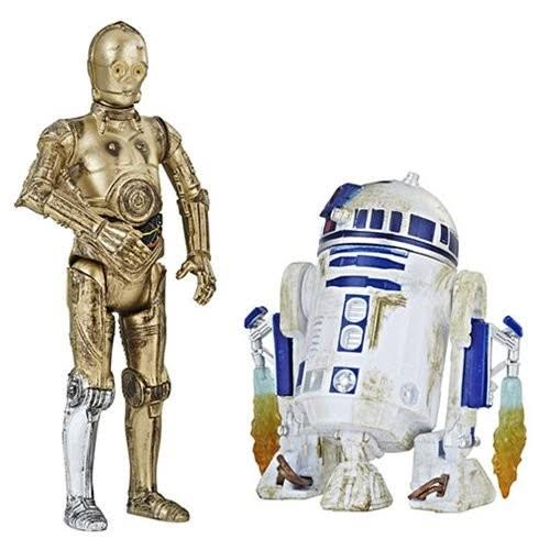 Hasbro Star Wars Force Link 2.0 C-3PO and R2-D2 Action Figure New
