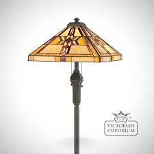 Quoizel Tiffany Style Floor Lamps by Tiffany Finlay Floor Lamp Floor Lamps The Victorian Emporium
