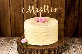 Cool Etsy Wooden Wedding Cake Topper Naked