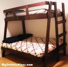 diy twin over double bunk bed myoutdoorplans free woodworking