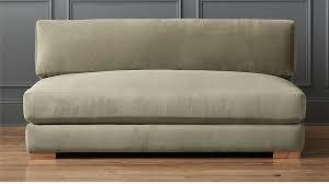 piazza one cushion sofa cb2