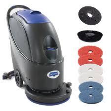 Automatic Floor Scrubber Detergent by Diamond Products Crown G17 Inch Auto Scrubber Walk Behind Floor