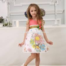 2017 sumer african dresses girls party dresses children boutique