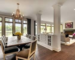 Kitchen Living Room Dividers Partition Ideas Intended For Design