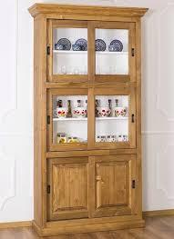 buffet vitrine glas küchenbuffet landhaus vitrinenschrank esszimmerschrank landhaus küchen schrank ps185 fichte massiv holz gewachst weiß lackiert