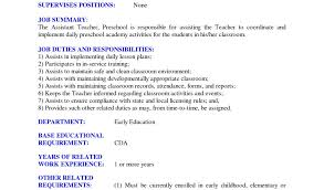 Cover Letter Examples For Preschool Teacher Assistant Beautiful Resume Google Search