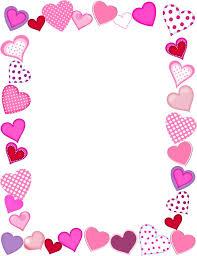 Happy Valentines Day Borders Valentine s Day