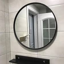 de jing0410 spiegel rund metall groß sauber