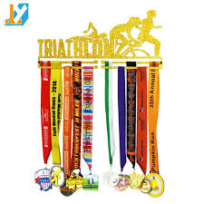 Brand New Golden Acrylic Medal Stand From Chinas Supplier Hanger Holder Runners