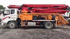 100 Used Tow Trucks Yr2017 SANY 23M Concrete Pump Truck Silk Road Equipment