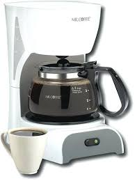Mr Coffee 4 Cup Maker White Coffeemaker
