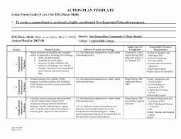 Employee Corrective Action Plan Template Best Of 15 Unique Resume