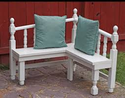 Sears Headboards And Footboards by Running With Scissors Corner Bench From Head And Foot Boards