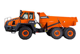 100 Articulated Trucks Dump Doosan Infracore Europe
