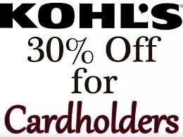 Kohl's Cardholders Coupon For Additional Savings ...