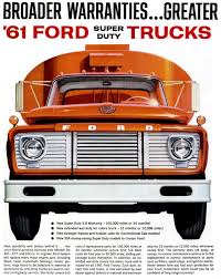 The New Heavy-duty 1961 Ford Trucks - Click Americana