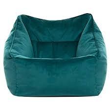 icon übergroßer sitzsack sessel blaugrün riesige sitzsäcke für das wohnzimmer 100cm x 88cm groß samt sitzsäcke für das wohnzimmer