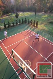 Outdoor Courts For Sport, Backyard Basketball Court, Gym Floors ... Triyae Asphalt Basketball Court In Backyard Various Design 6 Reasons To Install A Synlawn Home Decor Amazing Recreational Lighting Full 4 Poles Fixtures A Custom Half For The True Lakers Snapsports Outdoor Courts Game Millz House Cost Australia Home Decoration Residential Gallery News Good Carolbaldwin Multisport System Photo Diy Stencil Hoops Blog Clipgoo Modern